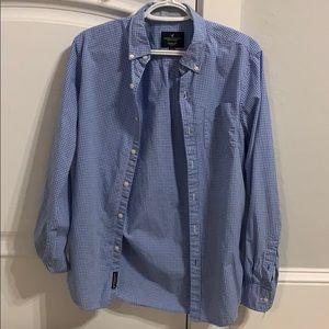 Men's AEO Long Sleeve Button up dress shirt!